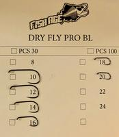 AMO DRY FLY PRO BL FISH AGE #18